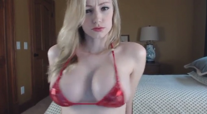 Amazing titfuck and blowjob by hot blonde pov 4